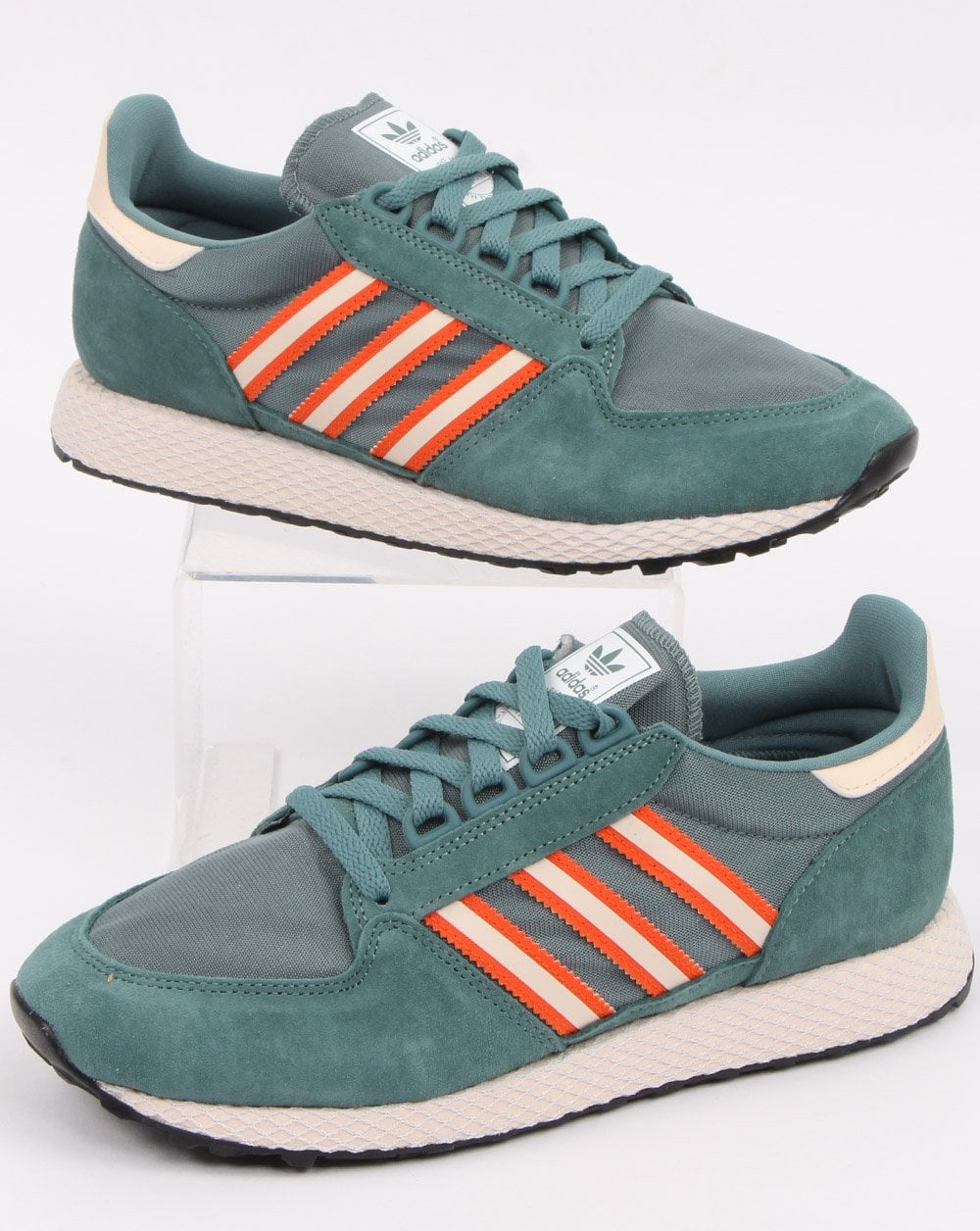 Adidas Forest Grove Trainers Raw Green