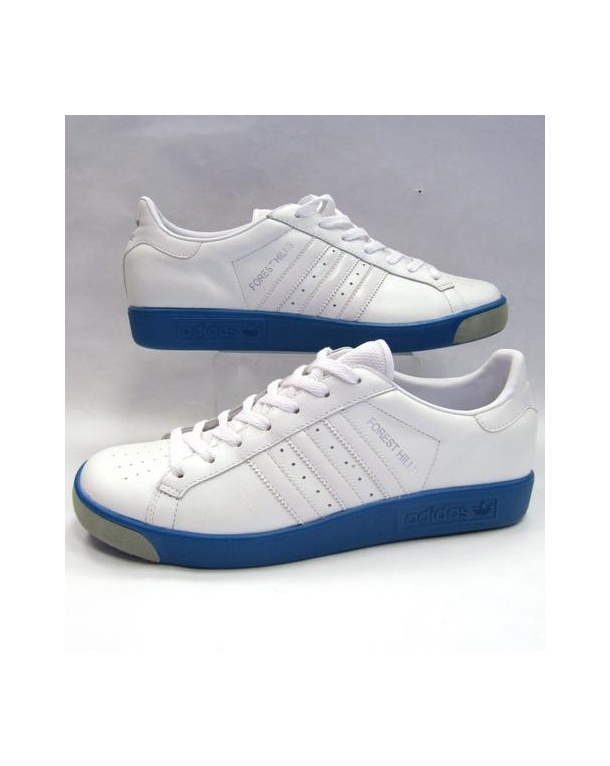 Adidas Forest Hills Trainers White/royal Blue