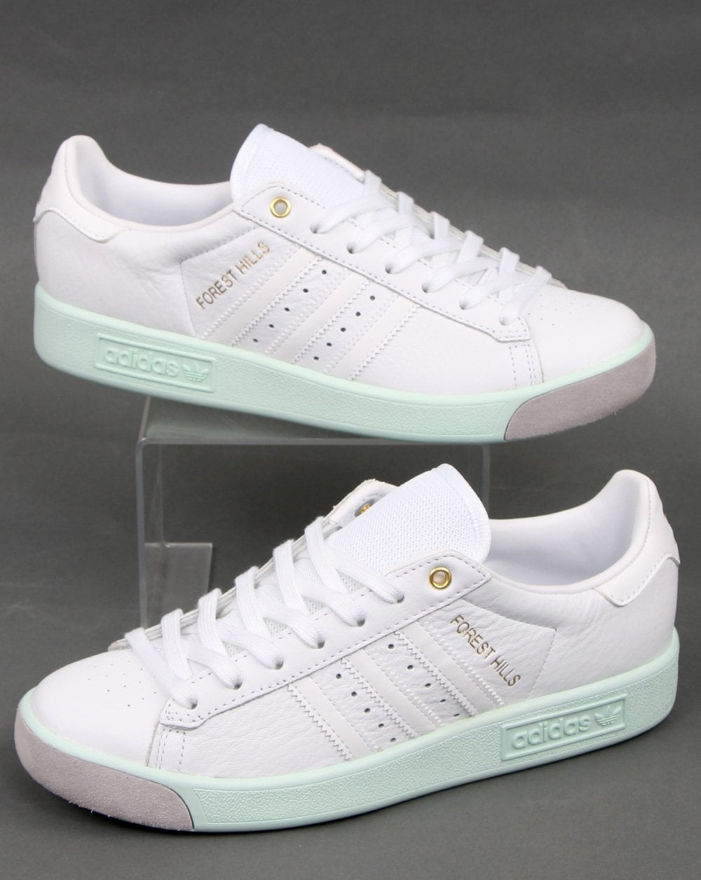Adidas Forest Hills Trainers White/Dash