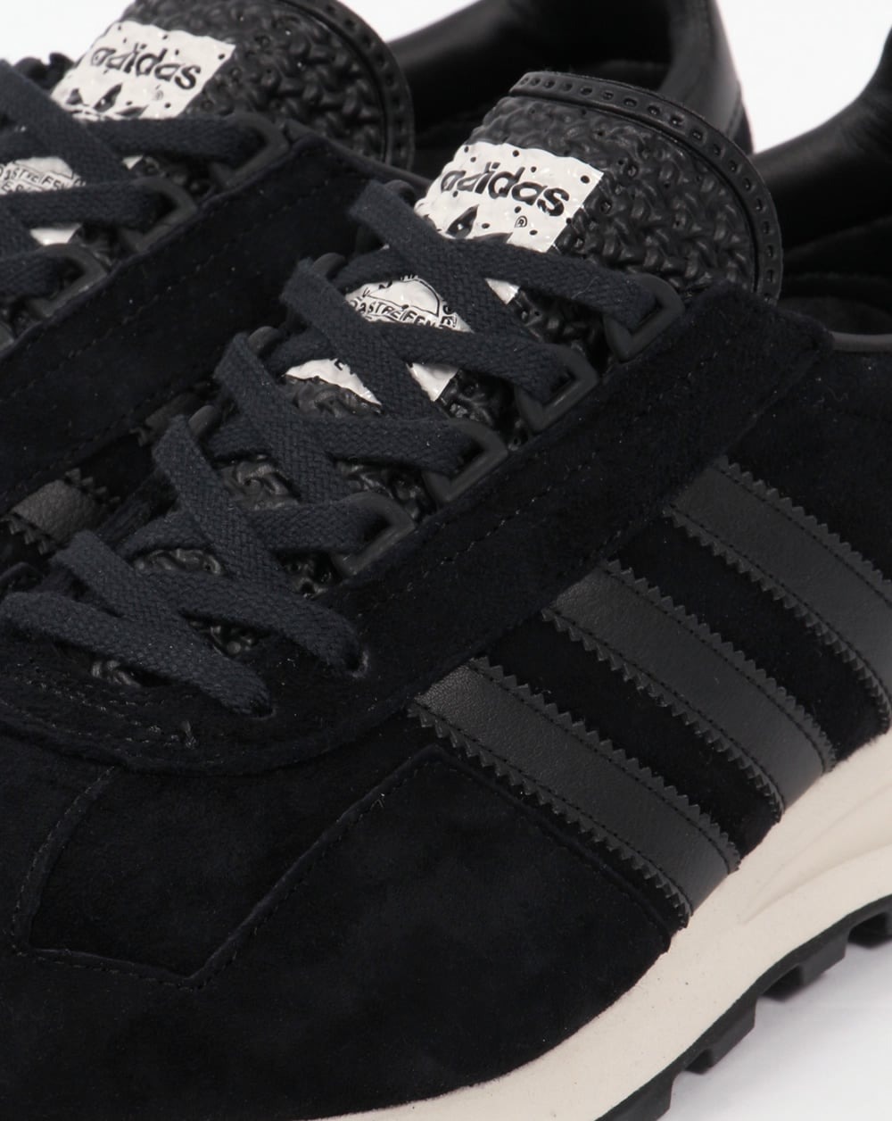 adidas black shoes white sole