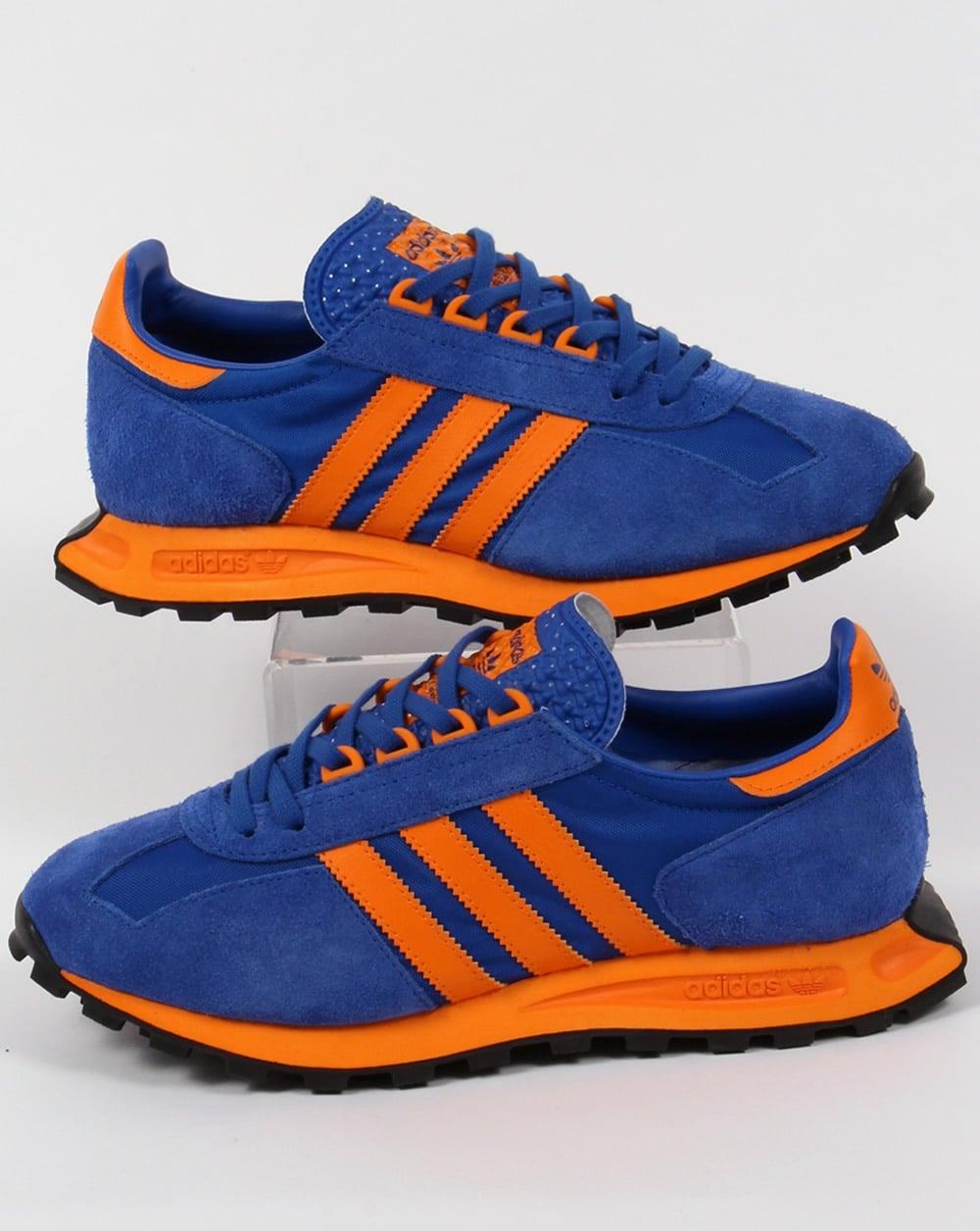 adidas formel 1 formatori potere blue / orange, originali, 2016, scarpe