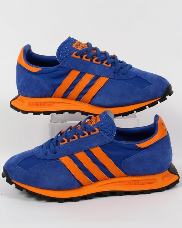 Adidas Formel 1 Trainers Blue/Orange