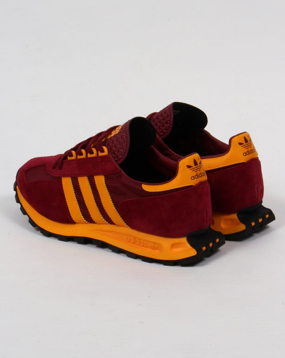 burgundy adidas trainers 2016