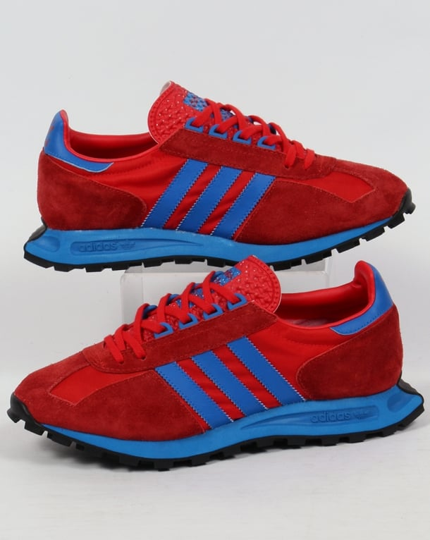 Adidas Formel 1 Trainers Red/Bluebird