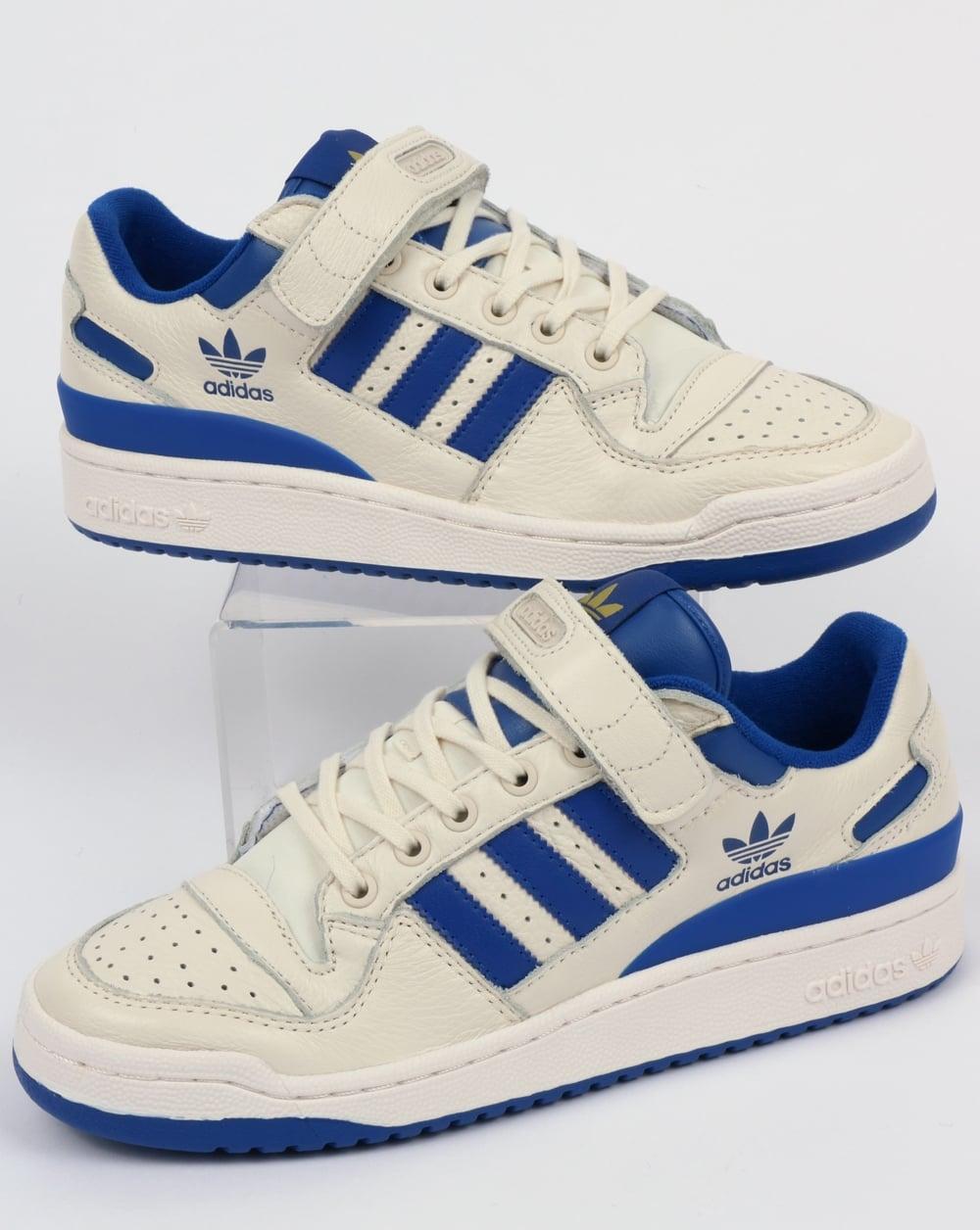 4fa59c9497eea1 adidas Trainers Adidas Forum Lo Trainers White Royal