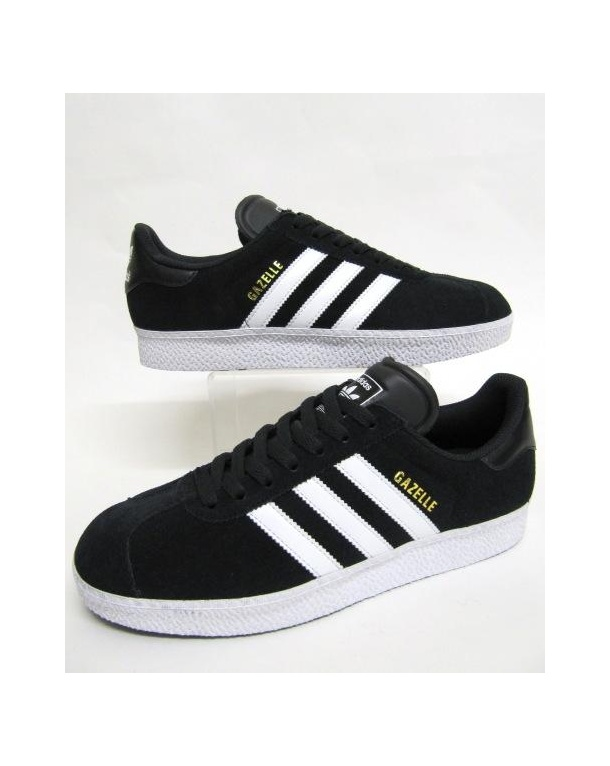 Adidas Gazelle Black And Silver
