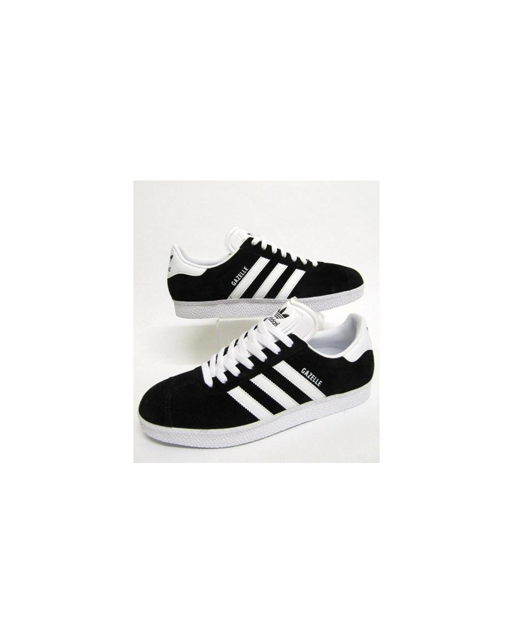 8f6764c9365 Adidas Gazelle 2 Trainers Black white
