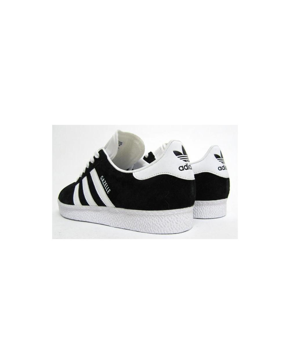 adidas trainers shoes men's gazelle 2 black