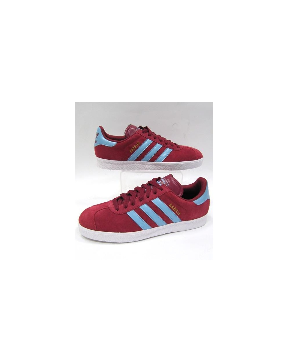 womens adidas gazelle pale blue