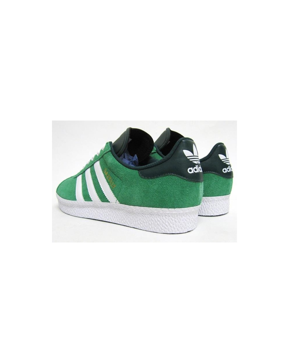 Adidas Gazelle 2 Trainers Fairway Green/White