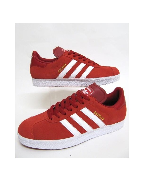 red adidas trainers