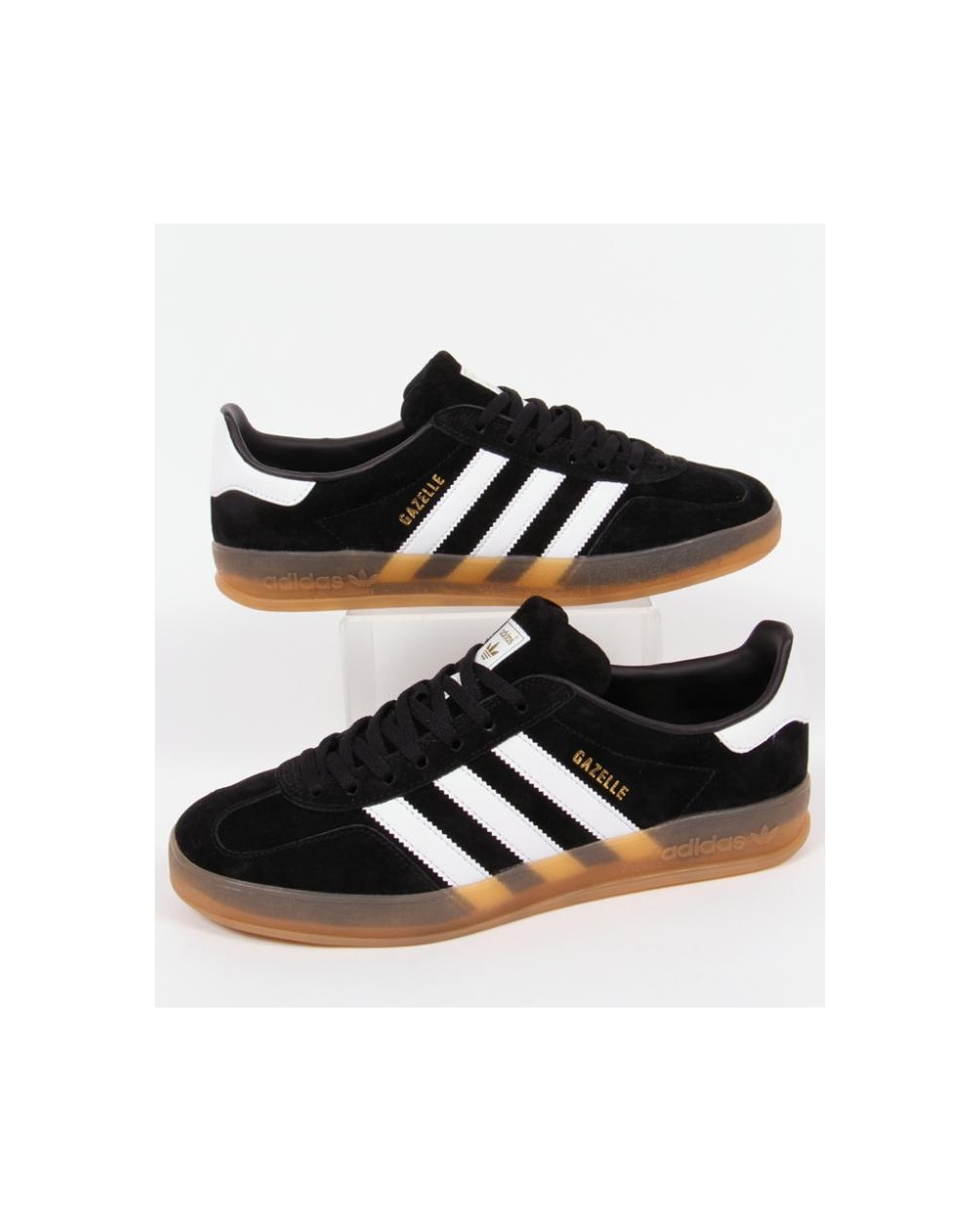 35c1a6c4867 Adidas Gazelle Indoor Core Black White Gum