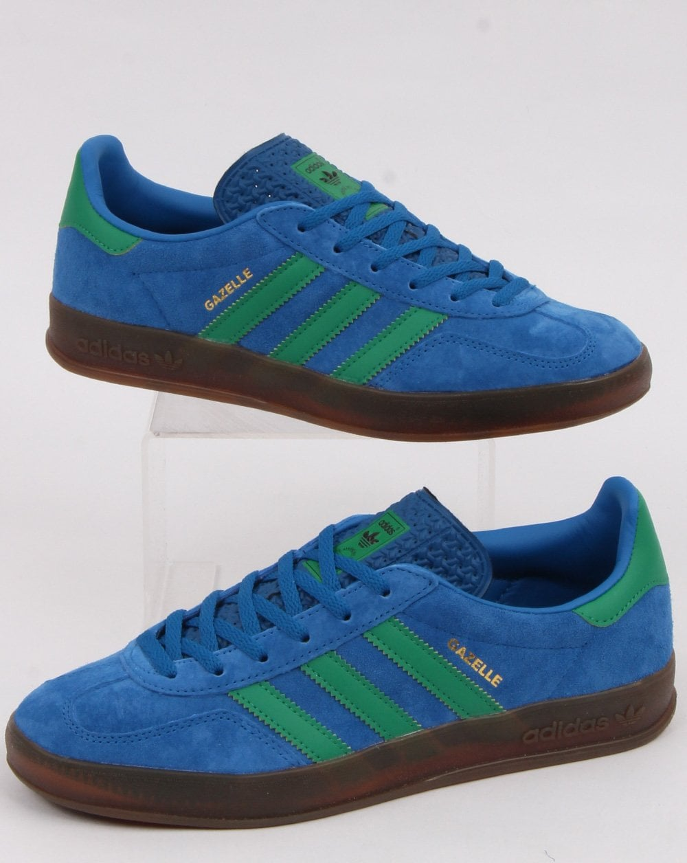 adidas Gazelle Indoor Trainers in Blue