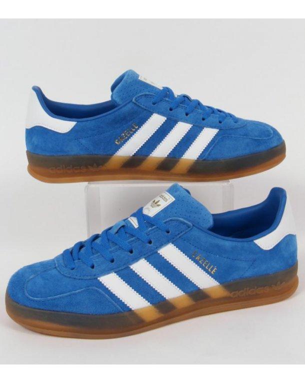 Adidas Gazelle Indoor Trainers Bluebird Blue/white