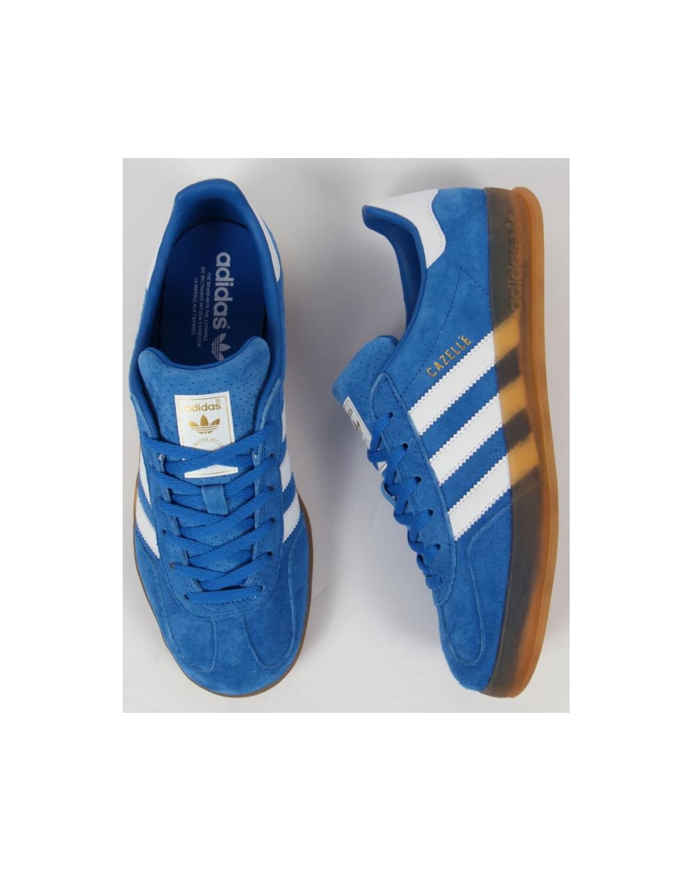 adidas trainers for men gazelle blue