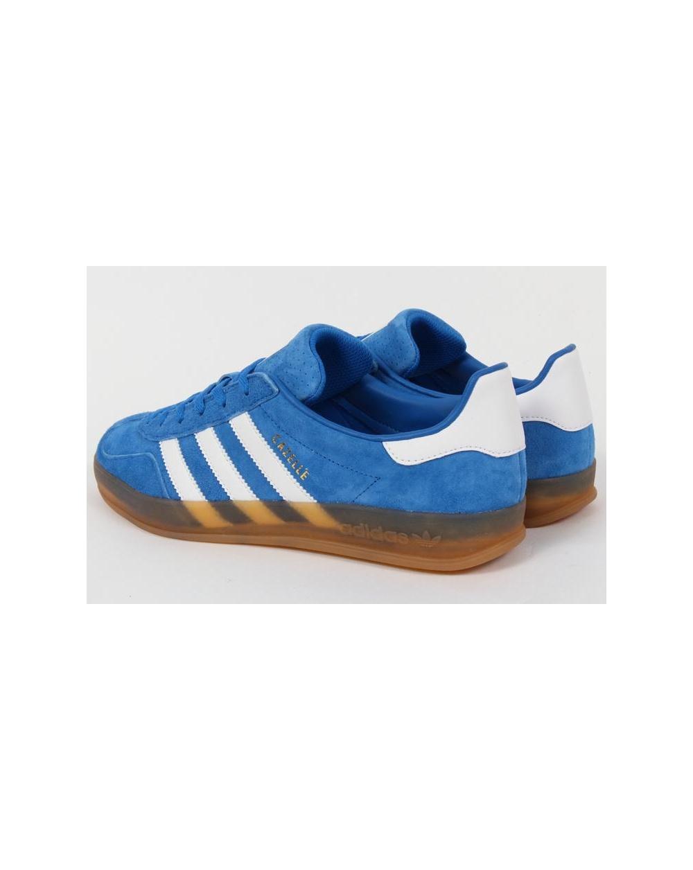 Adidas Gazelle Indoor Trainers Bluebird Bluewhite