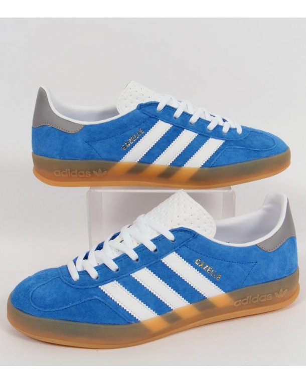 adidas indoor gazelle blue