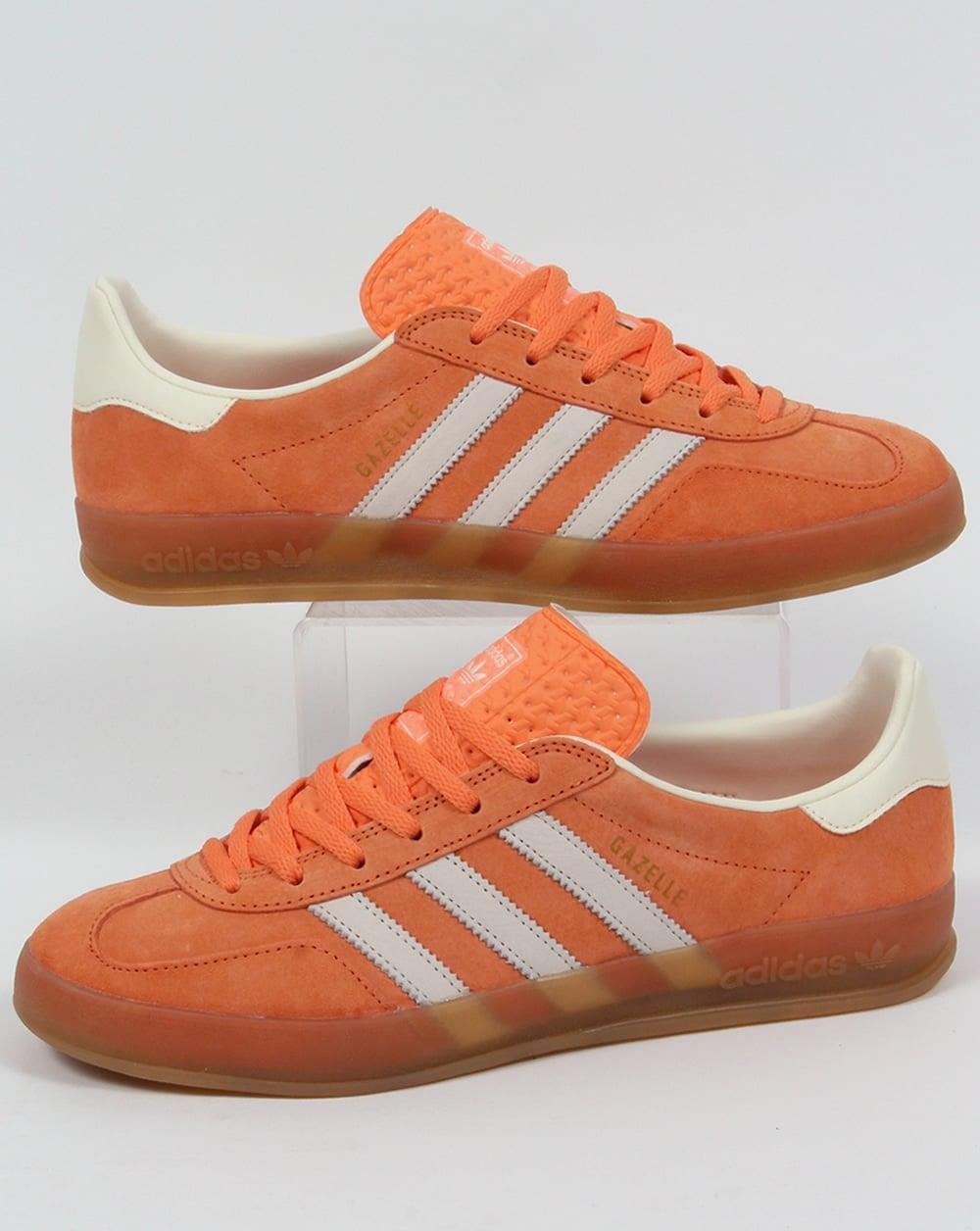 adidas Trainers Adidas Gazelle Indoor Trainers in light orange 184e62bb8