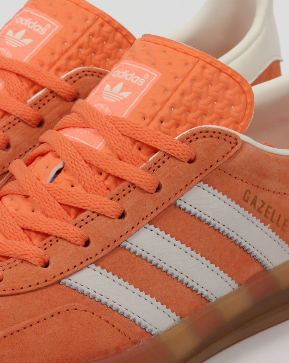 b8e04aeb890 Adidas Gazelle Indoor Trainers St Tropic Melon