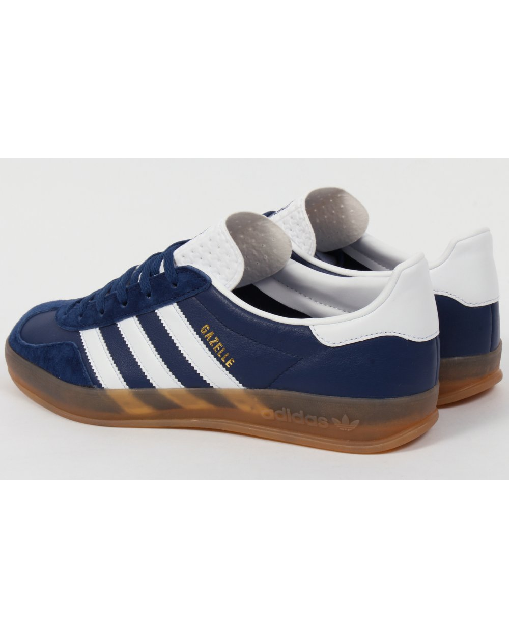 Adidas Gazelle Indoor Trainers Oxford Blue white gum e84e50fe1