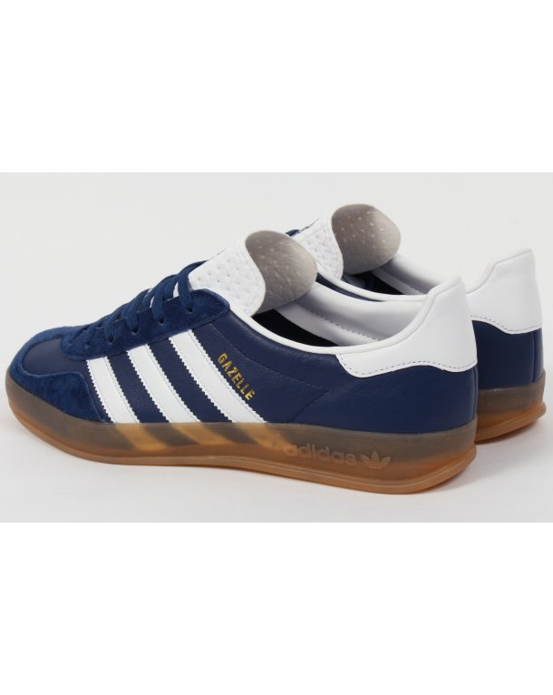finest selection 4323d 3a094 Adidas Gazelle Indoor Trainers Oxford Blue white gum