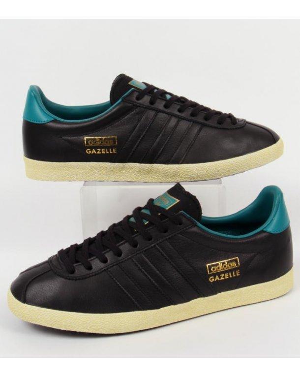 adidas gazelle og all black