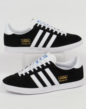 adidas Trainers Adidas Gazelle OG Trainers Black/White