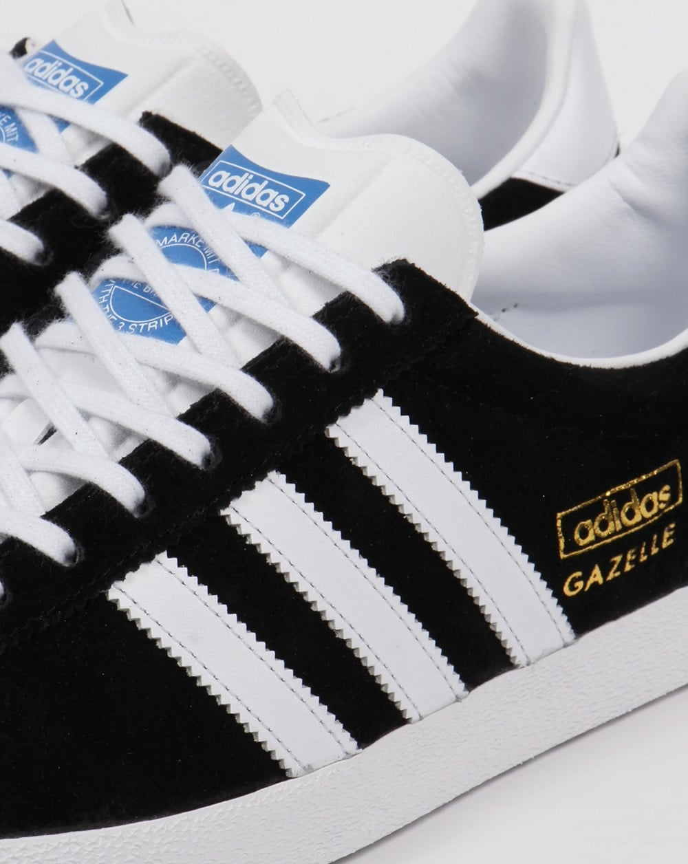 check-out a679c 9452d Adidas Gazelle OG Trainers Black/White