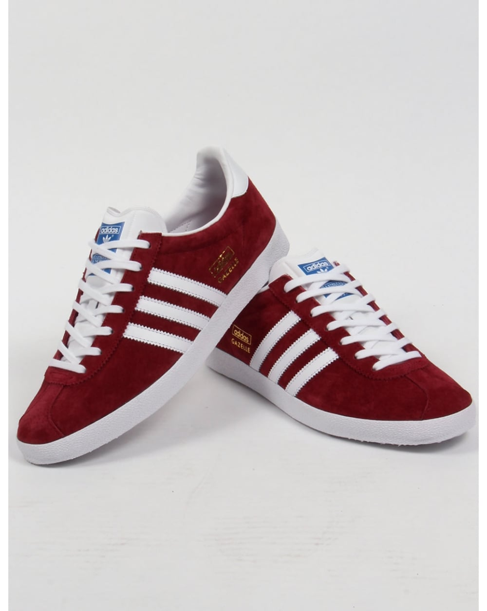 Adidas Gazelle Og Maroon White los granados apartment.co.uk