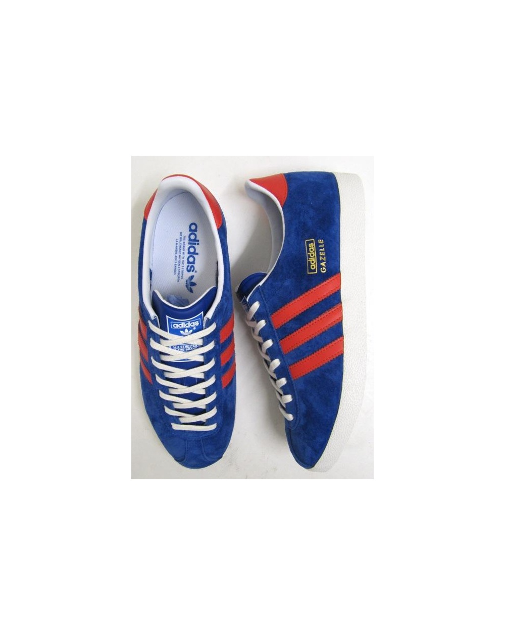 Buy blue and red adidas gazelles   OFF70% Discounted 097fb10d82