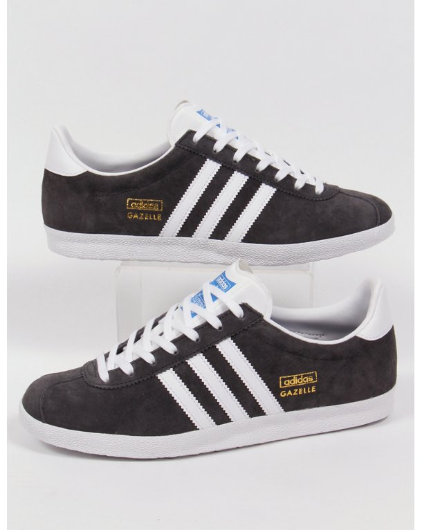 adidas originals dark grey gazelle