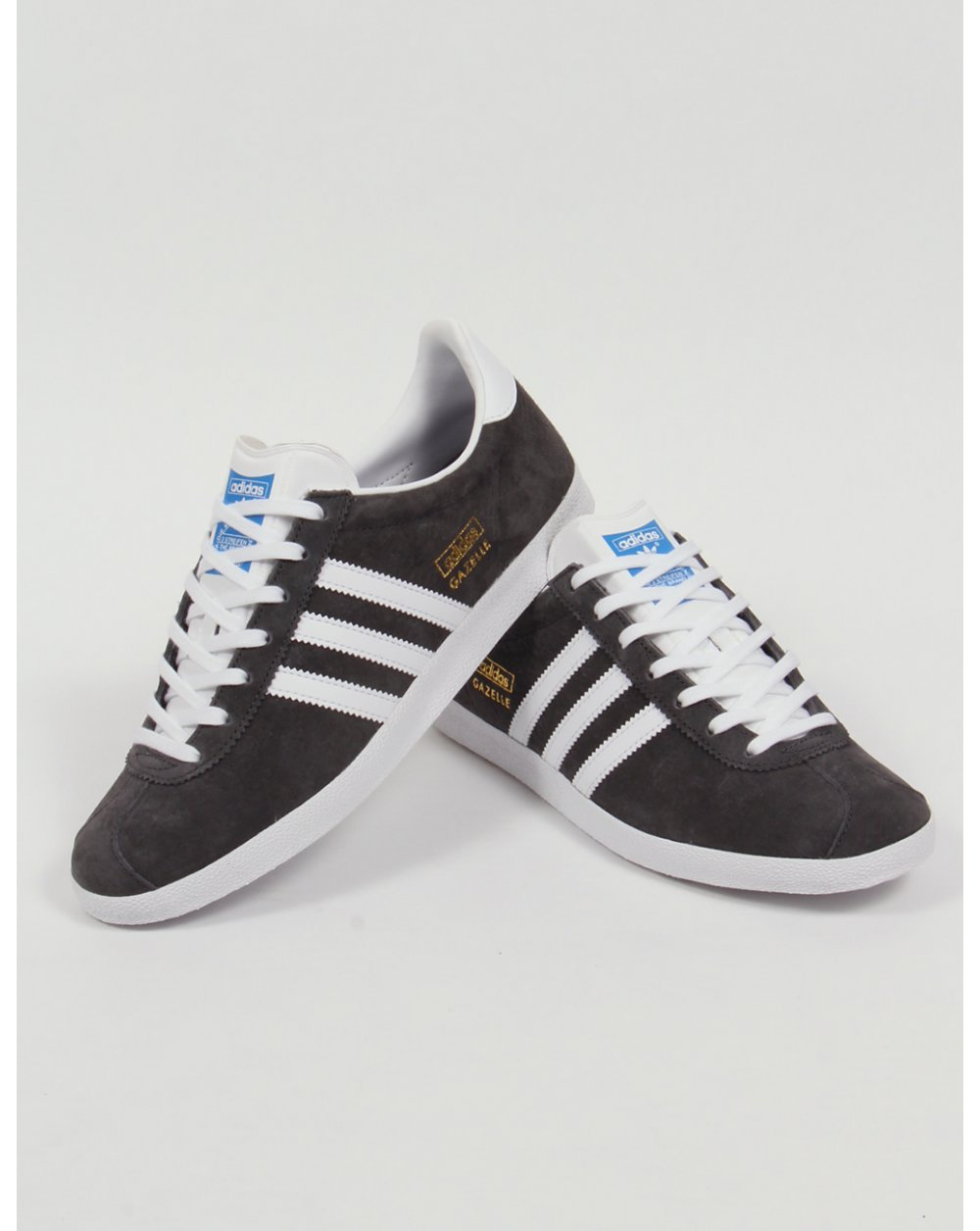 Adidas Gazelle OG Trainers Dark Grey White c29688a0d