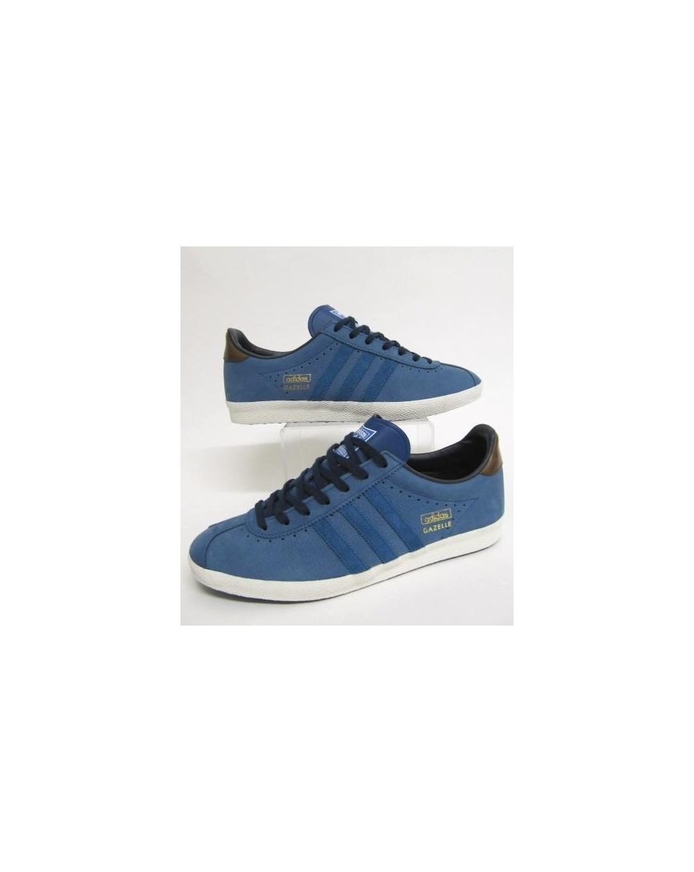 adidas gazelle og trainers leather tribe blue originals mens shoes sneakers retro. Black Bedroom Furniture Sets. Home Design Ideas