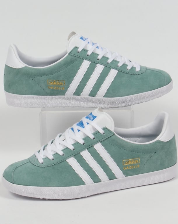 Adidas Gazelle OG Trainers Legend Green/White