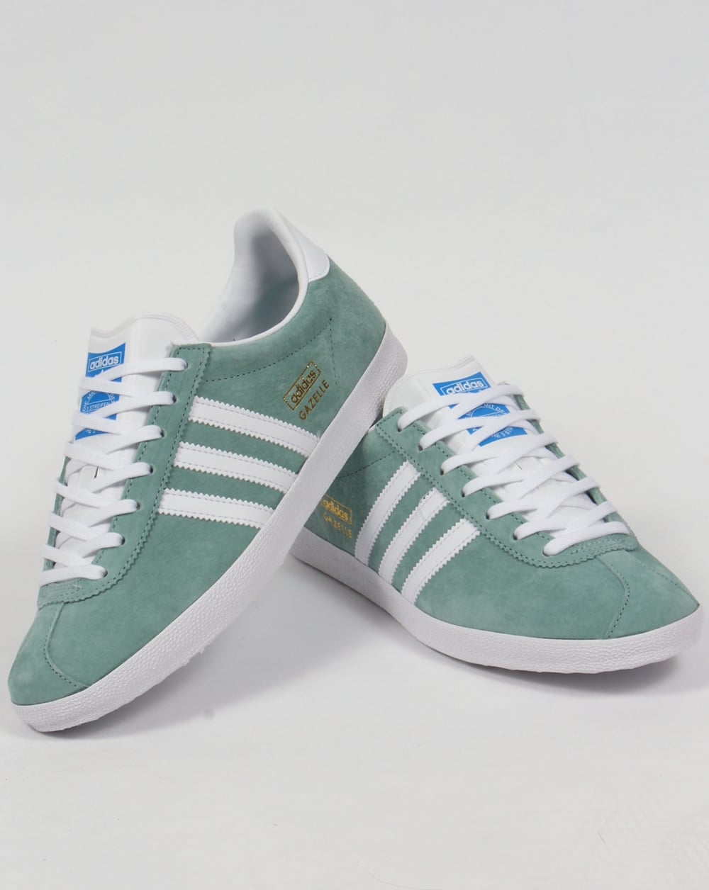 adidas originals gazelle og green