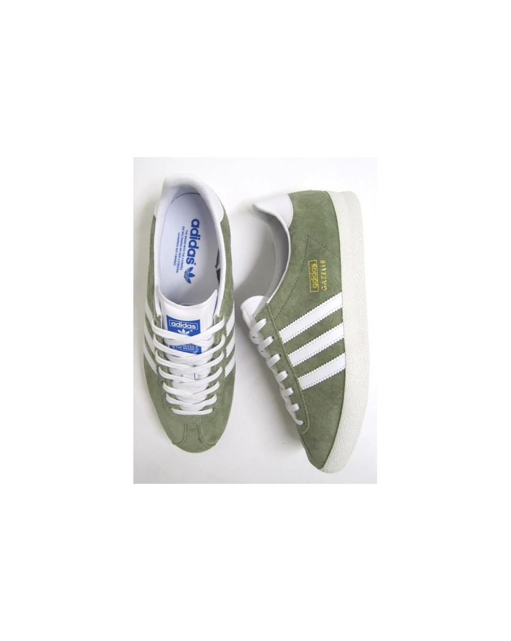 adidas gazelle og light green