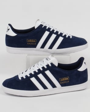 adidas Trainers Adidas Gazelle OG Trainers Navy/White