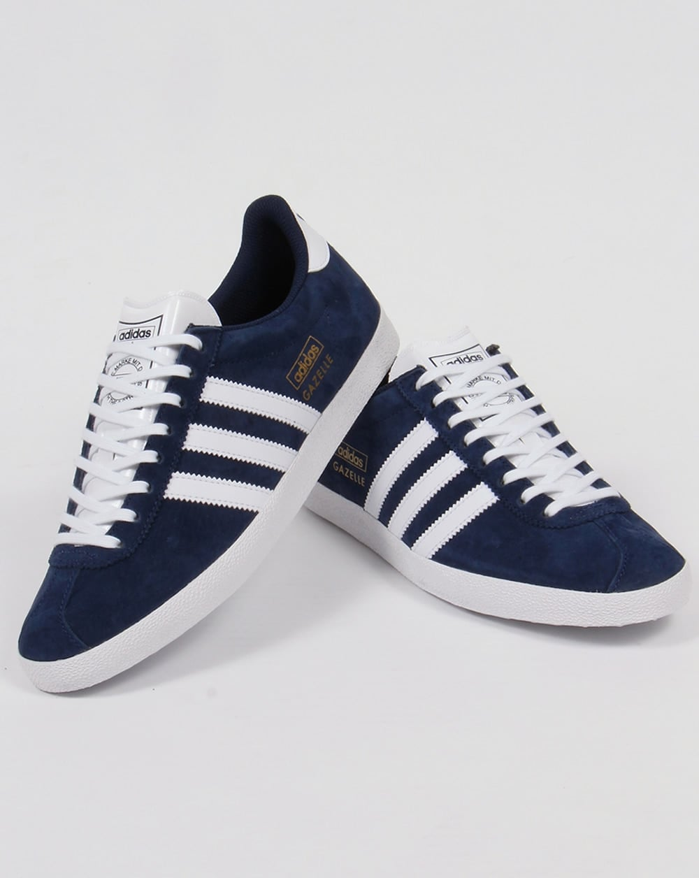 Adidas Gazelle OG Trainers Navy/White