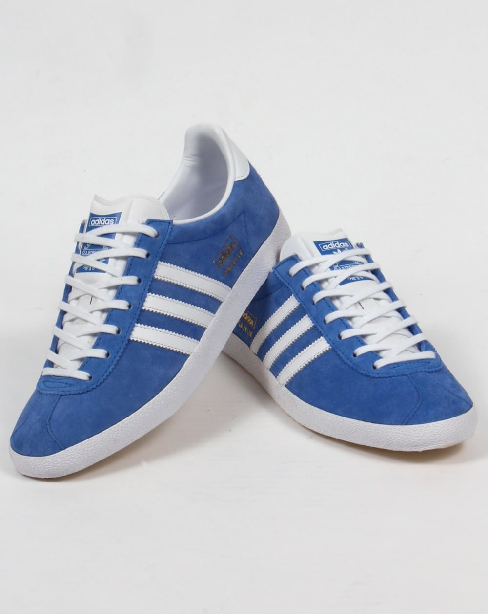 Adidas Gazelle OG Trainers Royal Blue/white