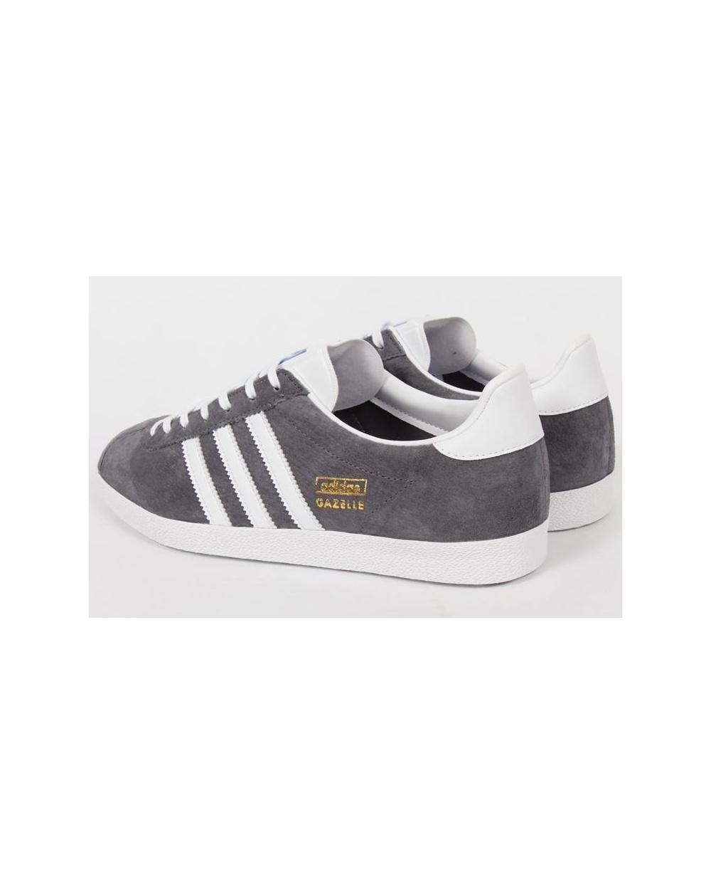 adidas gazelle grey white