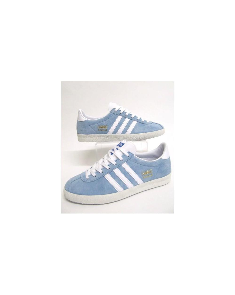 pretty nice e3cab 3c290 adidas Trainers Adidas Gazelle Og Trainers Sky Bluewhite