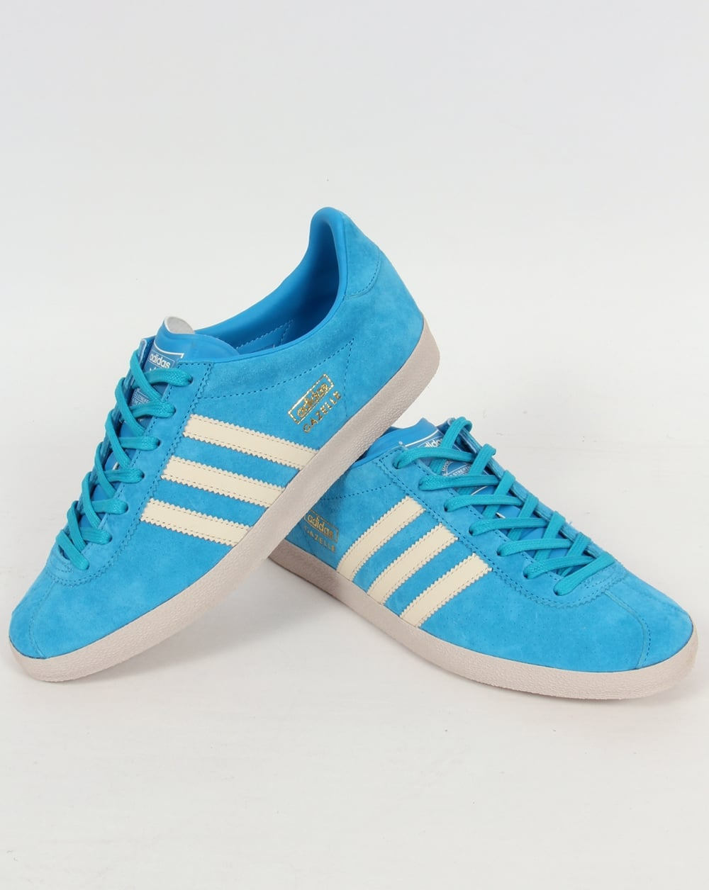 Mens Adidas Gazelle Og Trainers Blue