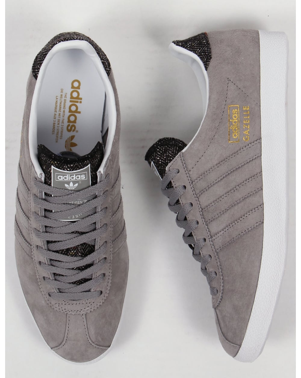 Adidas Gazelle Og Trainers Grey