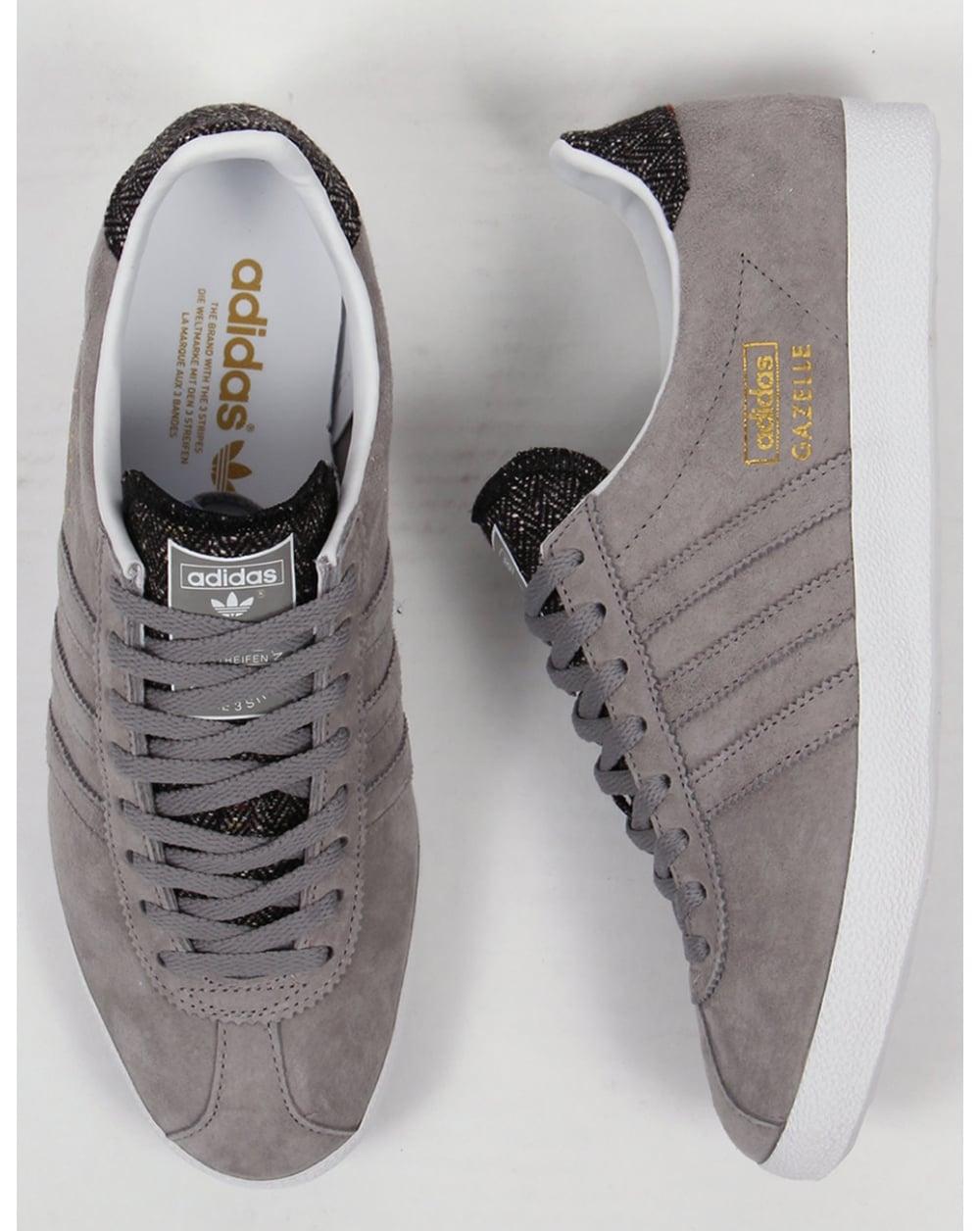 adidas gazelle og mens grey