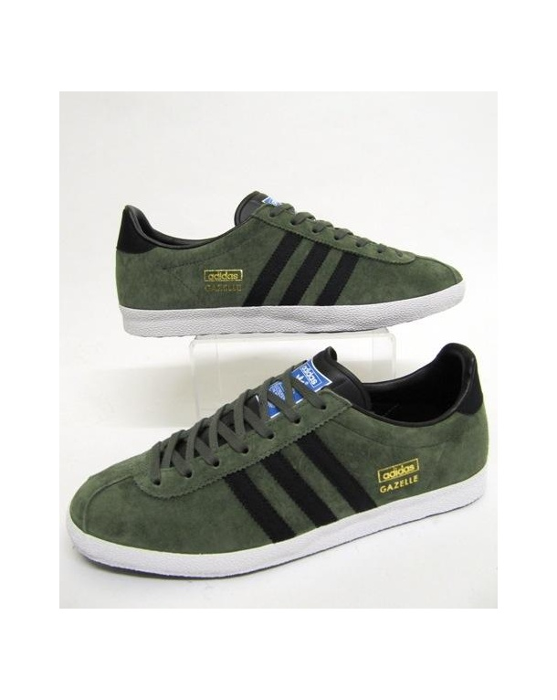 adidas gazelle men green