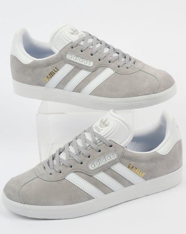 Adidas Gazelle Super Trainers Grey/White