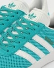Adidas Gazelle Textile Trainers Energy Blue/White