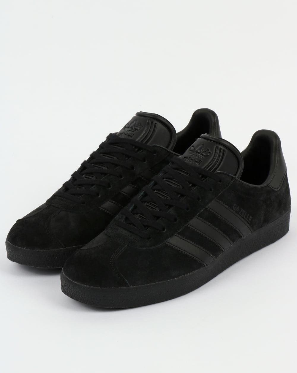 all black adidas trainers
