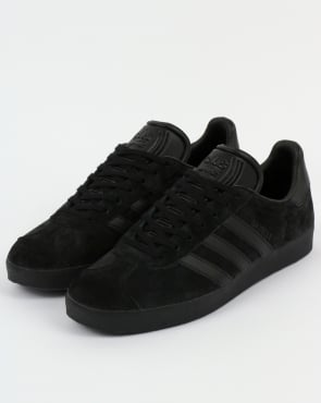 adidas Trainers Adidas Gazelle Trainers - All Black