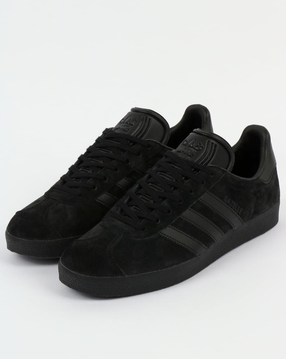 adidas trainers gazelle black